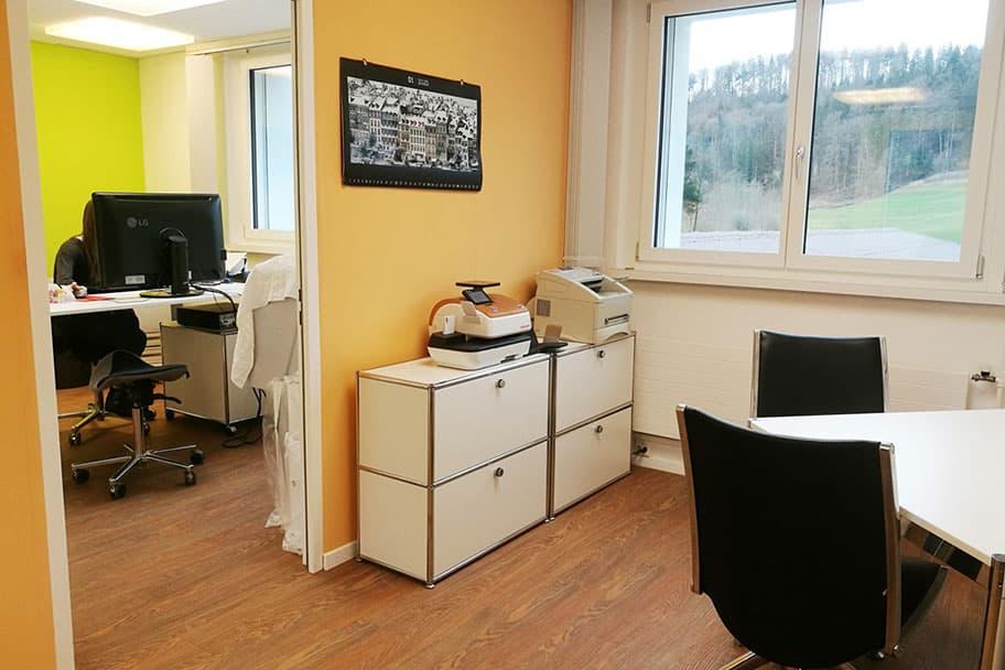 Innenaufnahme Büro Administation vepo