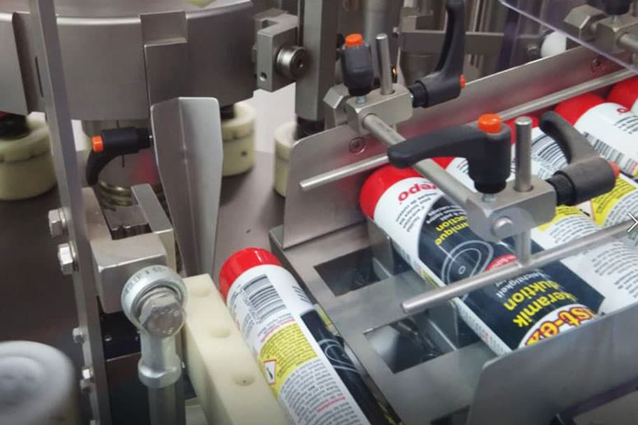 Tubenabfüllmaschine