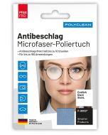 Antibeschlag Microfaser-Poliertuch Einzelverpackung