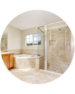 5 Produkte-Set für die Bad-Reinigung