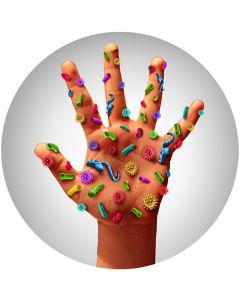 Mit dem Desinfektions-Set von vepo werden Oberflächen und Gegenstände hygienisch sauber und keimfrei.