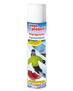 vepoprotect Imprägnierer ist bewährt für atmungsaktive Gewebe wie Gore-Tex, Sympatex etc. sowie für Glatt- und Wildleder.